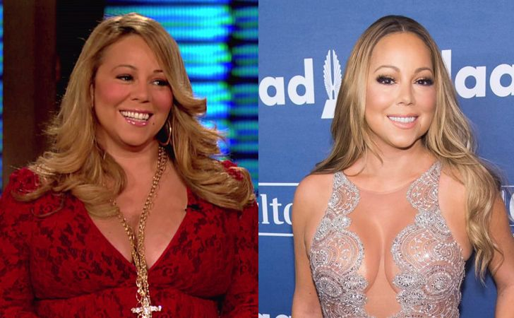 Mariah Carey, one of the world's most popular singers, disappointed many fans by gaining a ton of weight. She quickly realized her mistake and lost a lot of it, returning to her beautiful figure.