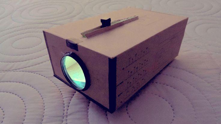 Proyector Casero Para Celular SmartPhone | Cinema en Casa - DIY