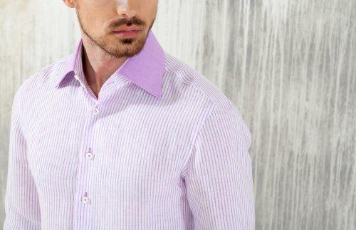 Стильная мужская сорочка