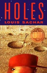 Holes by Louis Sachar from Episode 38: Shark Tank Kidpreneur Ryan Kelly of Ryan's Barkery - BizChix.com
