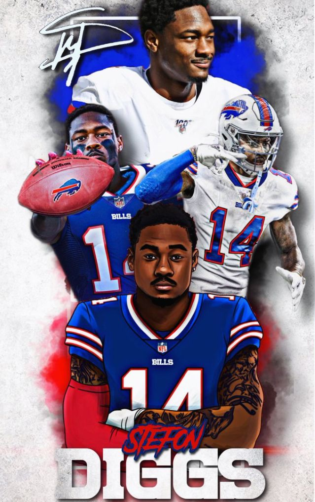 Stefon Diggs Frosted Flakes Cereal Box Nfl Bills Stefon Diggs