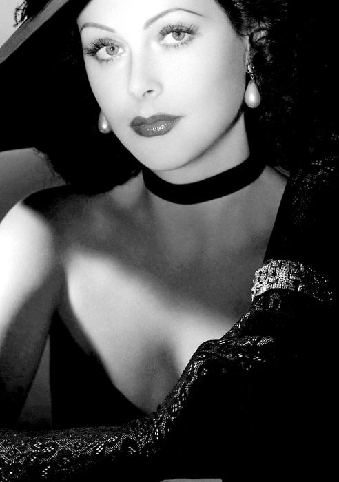 """Hedy  Lamarr (November 1913 – 19 January 2000), called the most beautiful woman in Europe, was a major contract star of MGM's """"Golden Age.""""   She's famous for acting out the first orgasm in film, full frontal nude shots, and for inventing an early technique for spread spectrum communications and frequency hopping, necessary for wireless communication from the pre-computer age to the present day."""
