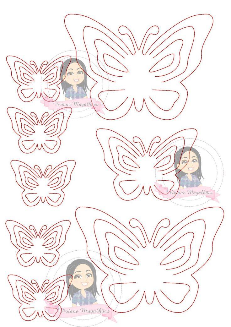 Diy borboletas de papel 3d para decorar paredes do - Papel para decorar paredes ...