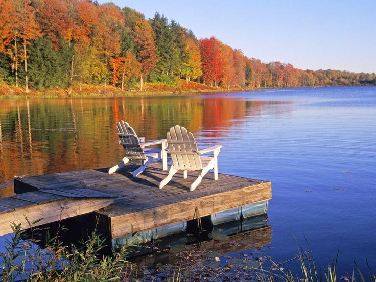 Adirondack Chairs Wallpaper Places Pocono Mountains