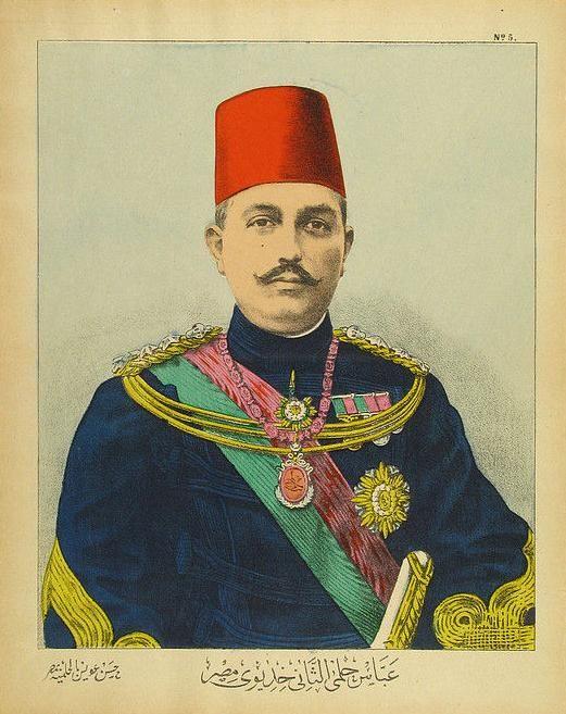 Abbas Hilmi Pasha, Last Ottoman Khedive (Governor) of Egypt (Osmanlı Mısır Hidivi Abbas Hilmi Paşa)