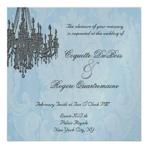 197 best chandelier wedding invitation images on pinterest la silver sparkle chandelier invitations mozeypictures Image collections