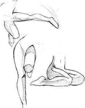 Поза ног