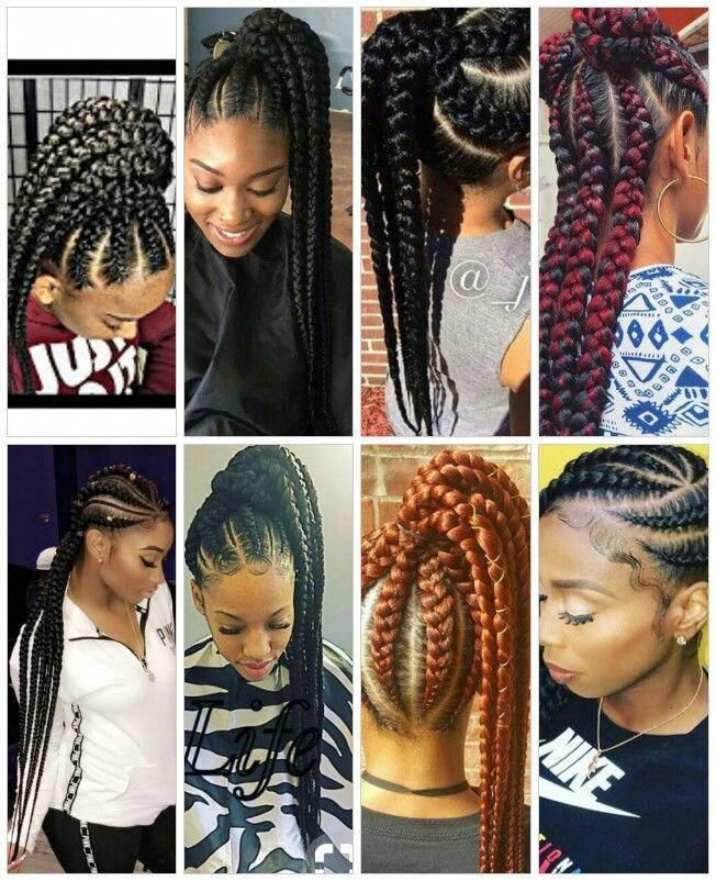 Blackhairstyles Blackhairstyleswithweave Hair Styles Quick Braids Braids For Black Hair