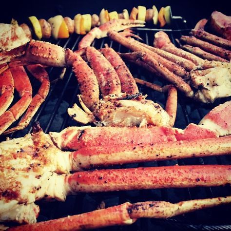 Grilled Crab Legs is a super simple way to expand your grilling horizon. This might be the easiest way to prepare crab legs and it's delicious!!