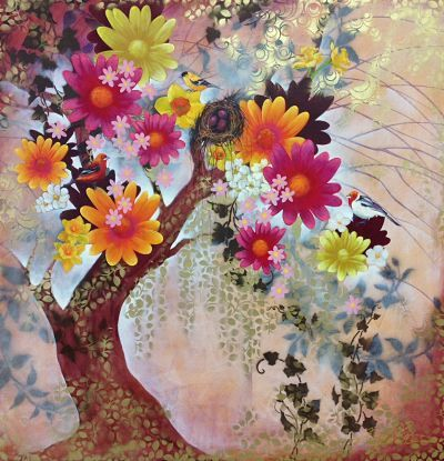 """""""Enchanted Nature"""" by Cheryl Petersen www.tuskgallery.com.au"""