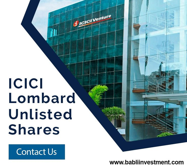 ICICI Lombard Unlisted Shares ICICI Lombard General Insurance Company Limited is one of the leading private sector general insurance companies in India. It is engaged in general insurance, reinsurance, insurance claims management and investment management. The company has a Gross Written Premium (GWP) of Rs 109.60 billion(FY 2017). The firm offers policy insurance and renewal through its intermediaries and website. It markets assurance products including Car Insurance, Health Insurance.