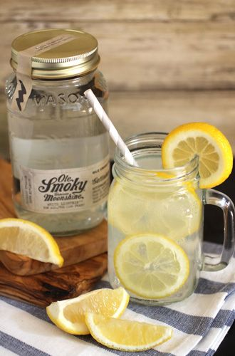 Ole Smoky Moonshine Lemonade - sweet and tart, just like we like it!