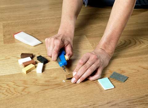 ремонт ламината своими руками