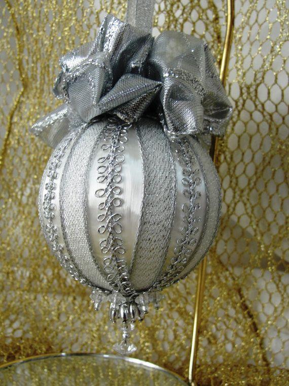 Handmade Christmas Tree Ornament Original Design by BobbyesHobbies, $14.25