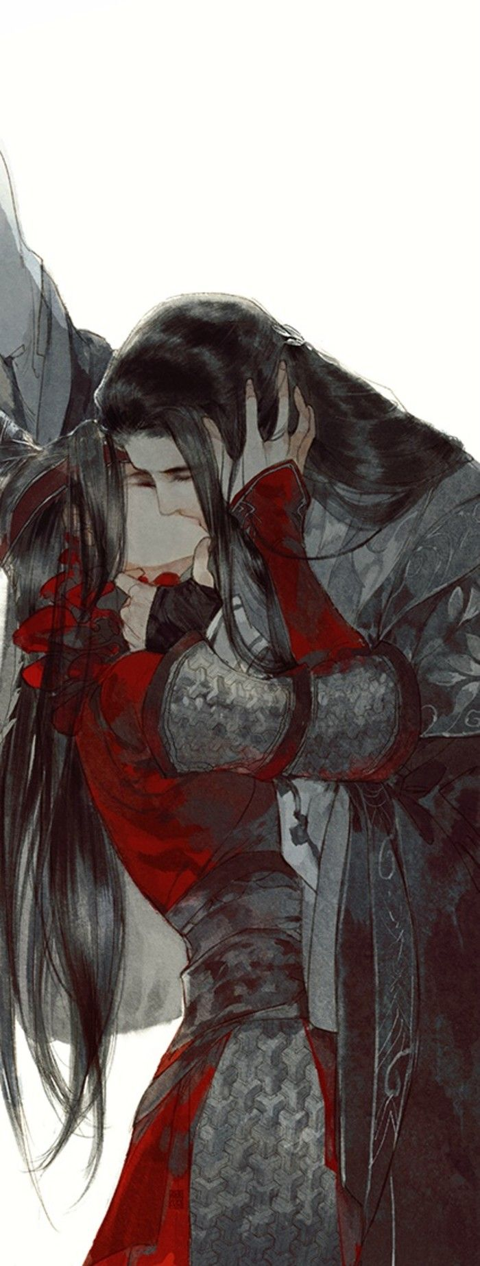 ~tender mature kiss illustration by 伊吹五月 (Y Xuy Ngũ Nguyệt) -(Ibuki Satsuki)