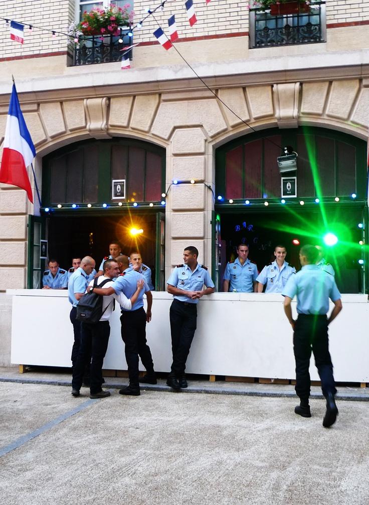Bal des Pompiers - Paris - July 13th.