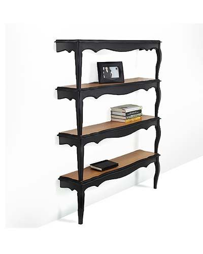 I can see this bookshelf going into our bedroom instead of a dresser.  Of course, that would mean I could have to keep my clothing folded. $500