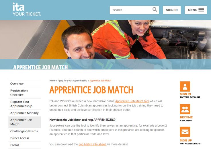 BC: Apprentice Job Match