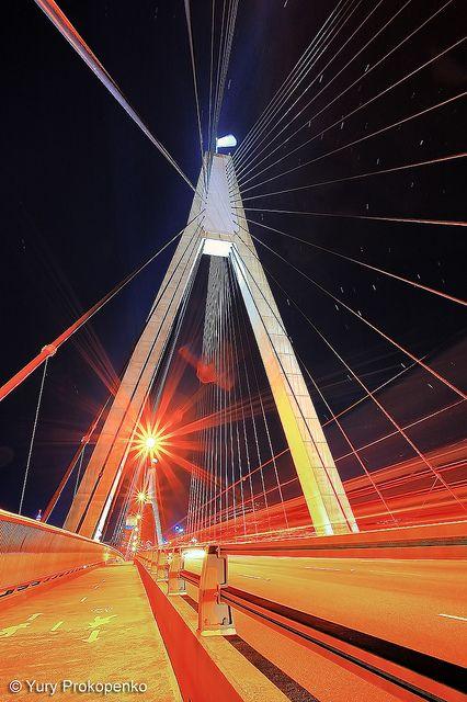Anzac Bridge ANZAC Bridge, Sydney NSW Australia