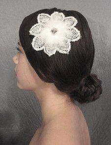 Chelsea Rose Bridal Garments   HEAD PIECES
