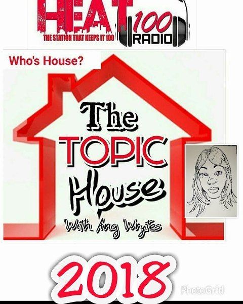 Guess Who's Back?  Yes The Topic House Returns January 2018 on Heat100radio.com  It's ya girl Ang Wrytes bringing you that urban contemporary music and the hottest topics.  Get ready I'm Back.  #stronger #better #angwrytes #ssbreeze #tkdre #poets #poetry #spoken word #radio #underground #iheart #music #poets #rappers #hosts #comedians #writers #underground #iheart #music #poets #rappers #hosts #comedians #writers #entertainment #actors #movies #producers #singers #poets #poetry #spokenword…