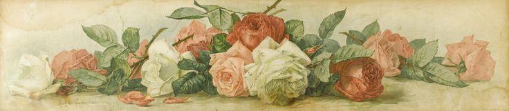 Бейкер Стрит: Восхитительные цветы художников Paul и Raoul de Longpre