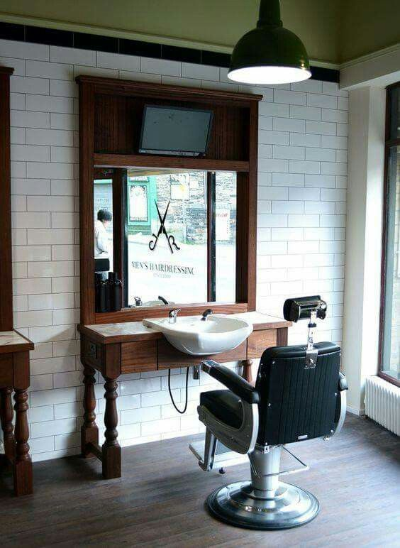 17 best images about barber shop ideas and styles on for Barber shop interior designs ideas