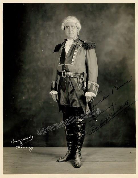 Marshall, Charles - Signed Photo in La Fuerza del Destino