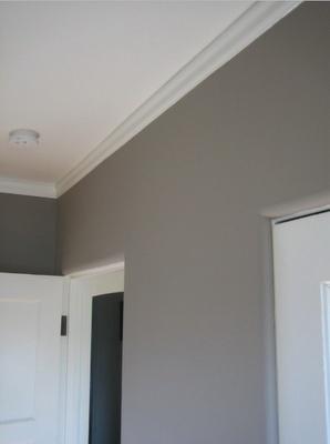 Ashley Gray - Benjamin Moore  Bedroom color?