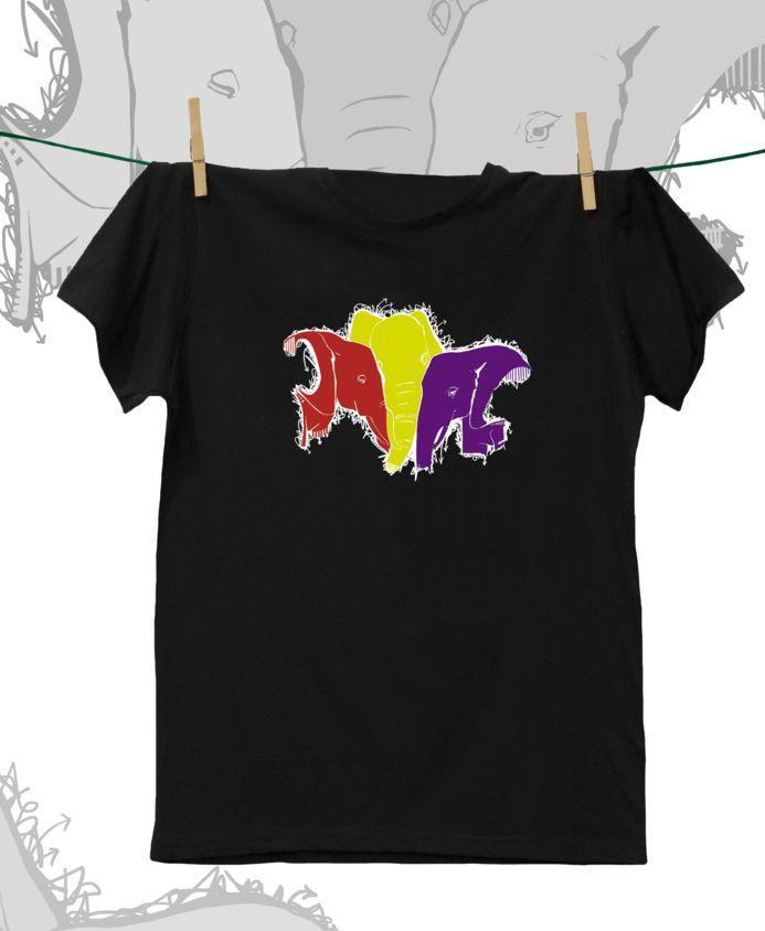 Camiseta ·MXH· Elefantes republicanos