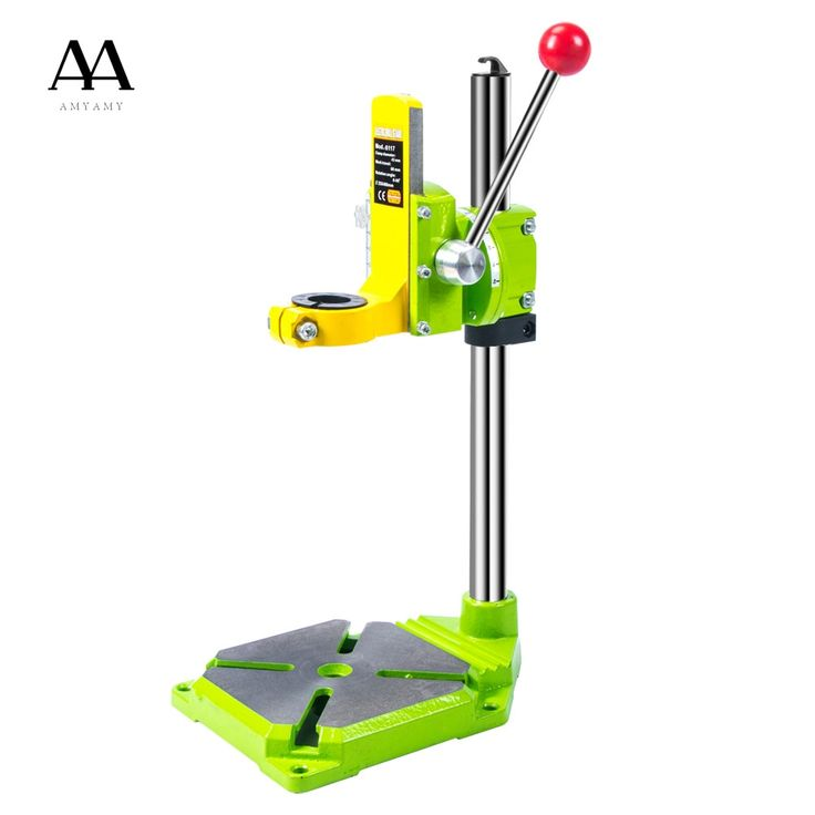 69.19$  Watch here - http://alitdg.shopchina.info/1/go.php?t=32769551572 - Electric power Drill Press Stand Table for Drill Workbench Repair Tool Clamp for Drilling,Collet Table 35&43mm 0-90 degrees  #magazineonlinebeautiful