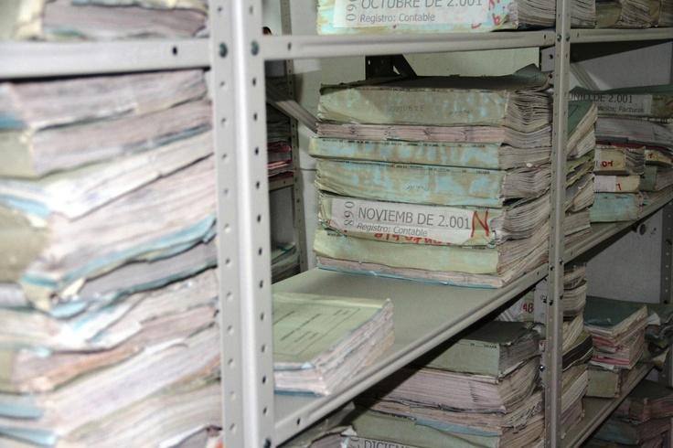 El archivo que se encuentra en la Casa de la Cultura