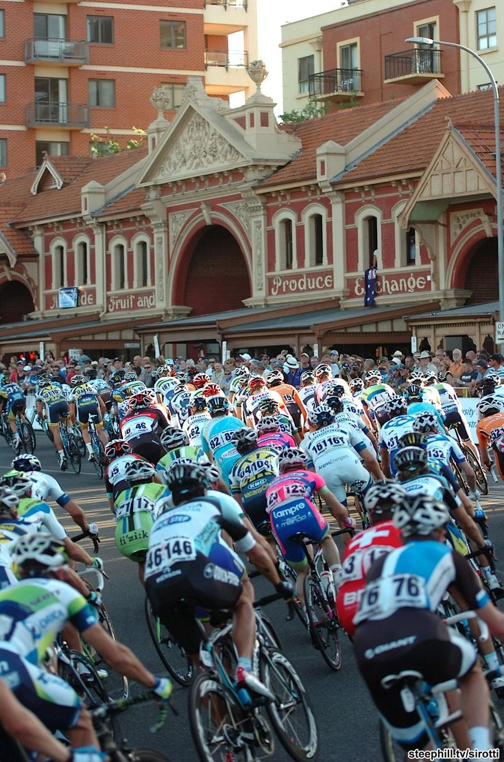 Tour Down Under. East Terrace ~ Adelaide
