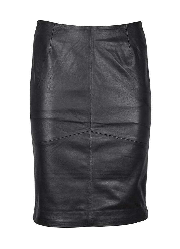 Flot skind nederdel fra RUE de FEMME