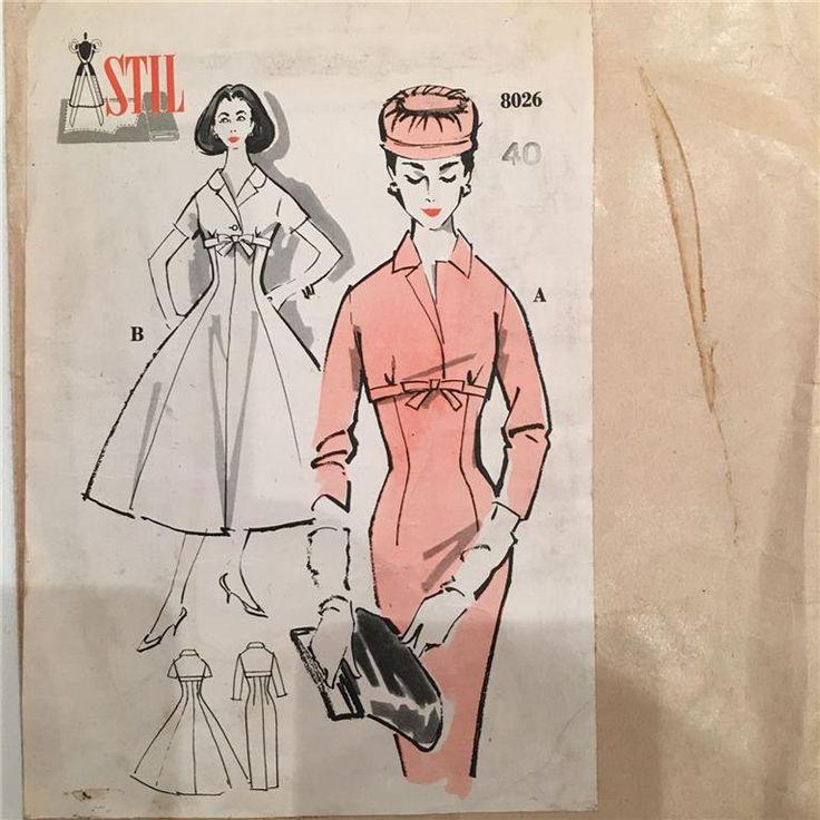 Vintage mönster på Tradera.com - Symönster för sömnad och stickning  