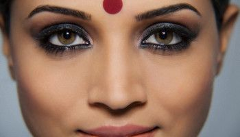 More often, the bindis/kumkum/bottu/Tilak/Tika (different names in different regions) worn by Inian ladies on their forehead are in red color as it considered...