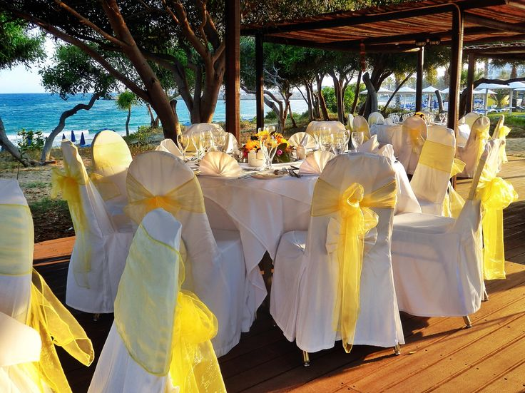 The ideal setting for a dreamy #wedding..!  Grecian Bay Hotel Cyprus offers its Garden Deck venue with breathtaking #views of the Mediterranean, to host an once in a lifetime #wedding ceremony. Simply enjoy the magic of your special day and let us do the rest!  www.grecianbay.com