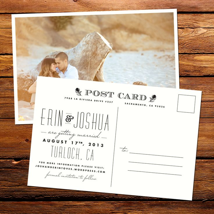 how to make wedding invitation card in microsoft word007%0A Postcards to save on postage