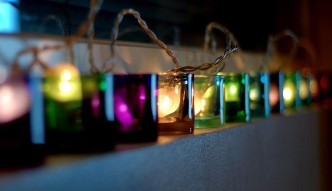 Lights in Kivi by Iittala.