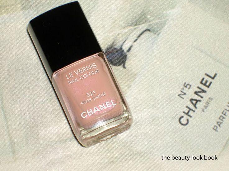 Chanel Rose Caché 521 Le Vernis