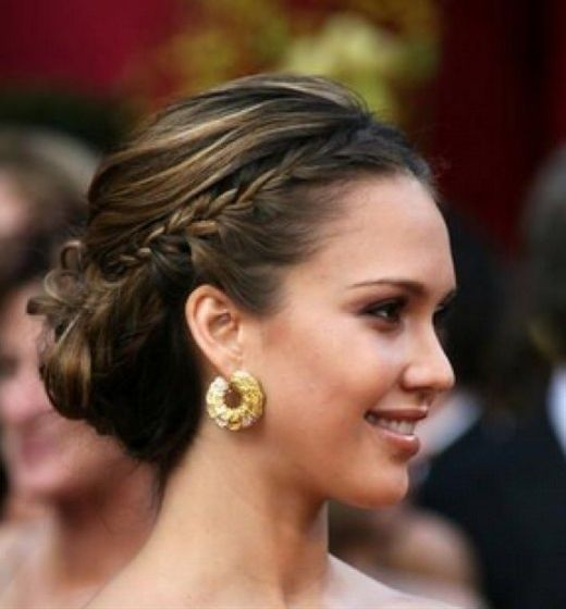 bridesmaid hair - Click image to find more hair & beauty Pinterest pins