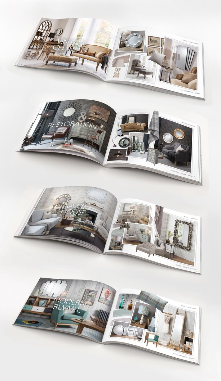 Home Accessories Brochure Design