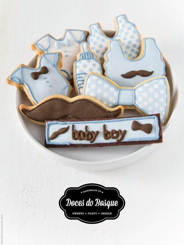 Mr. Baby Boy Cookies