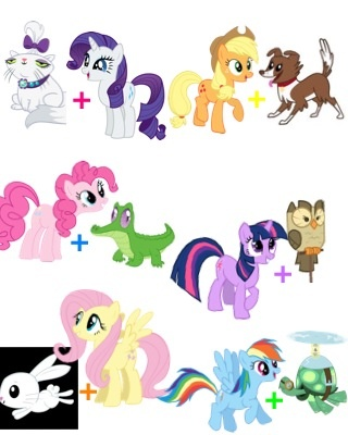 Mlp Mane 6 Pets | www.pixshark.com - Images Galleries With ...