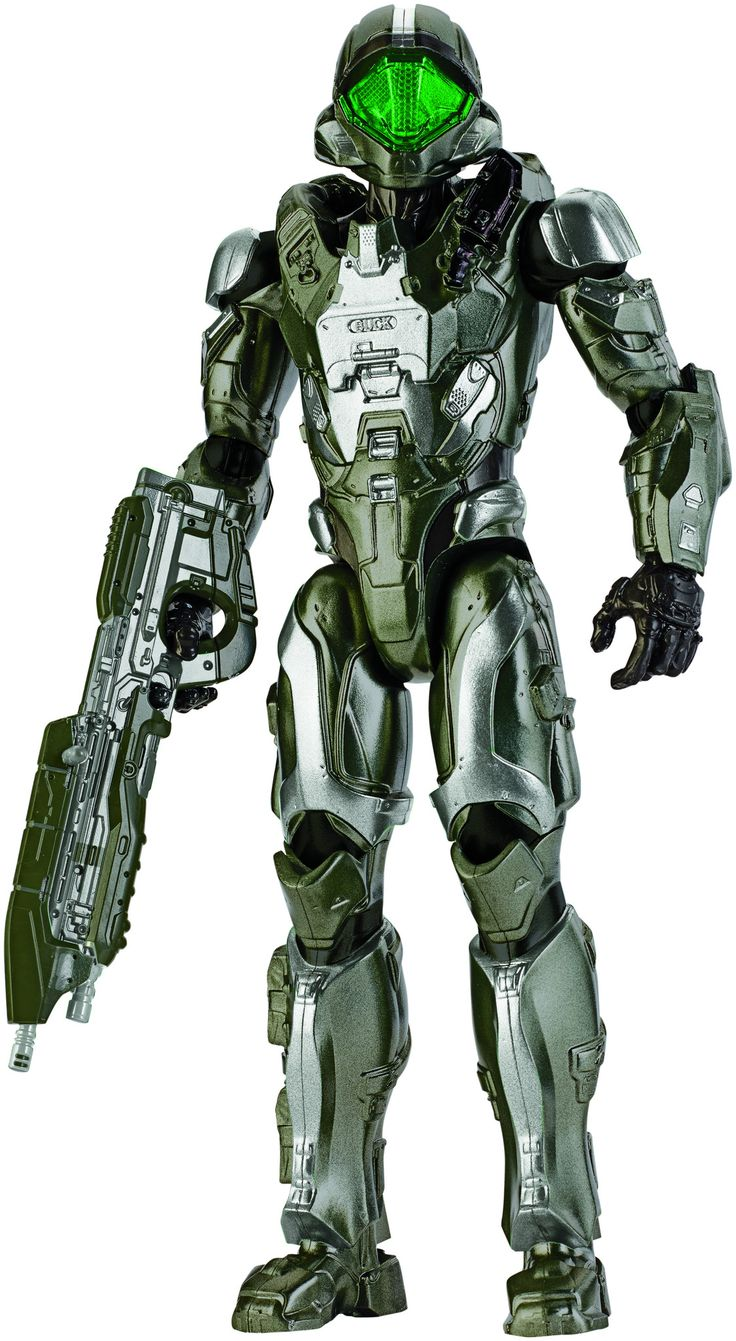 Mattel Halo 12 inch Action Figure Spartan Buck
