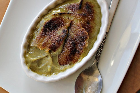 avocado pistachio creme brulee | COOK THIS | Pinterest