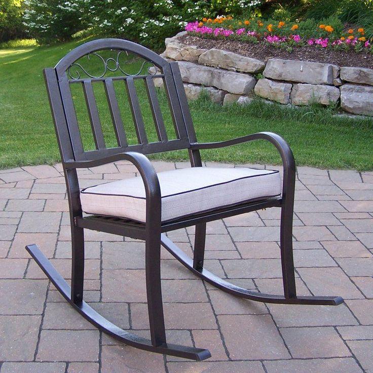 Oakland Living Rochester Outdoor Rocking Chair   6124