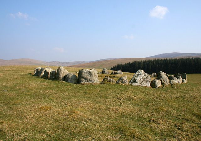 Stone circles in Wales: Moel Tŷ Uchaf https://www.facebook.com/photo.php?fbid=635498596472444&set=a.134735423215433.17340.131420090213633&type=1