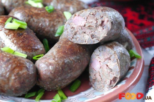 Печеночная колбаса с гречкой - Кулинарные рецепты на Food.ua