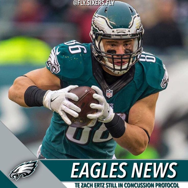 TE Zach Ertz is still in the concussion protocol after suffering a head injury against the Seattle Seahawks on Sunday Night. He didnt practice yet and is probable to play against the Los Angeles Rams. He has progressed enough to attend team meetings but hes not cleared to practice at the time. If he cant play Brent Celek and Trey Burton will fill his role. #Philadelphia #Philly #Eagles #PhiladelphiaEagles #FlyEaglesFly #BirdGang #GangGreen #FlySixersFly